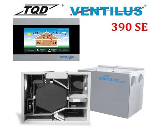 Újgenerációs TQD Ventilus SE szellõztetõ gép